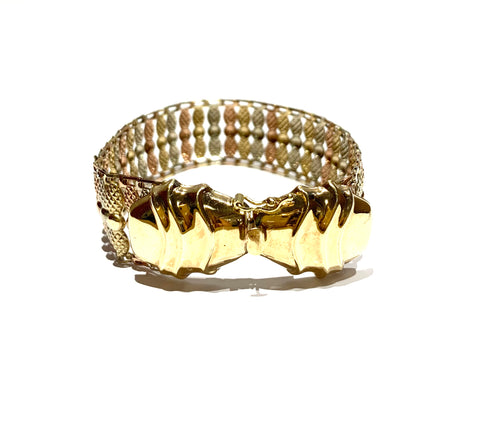 10k Gold Pineapple Bracelet