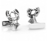 Sterling Deer Cufflinks
