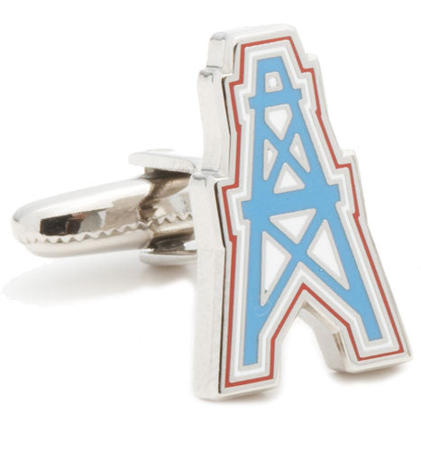 Houston Oiler Cufflinks