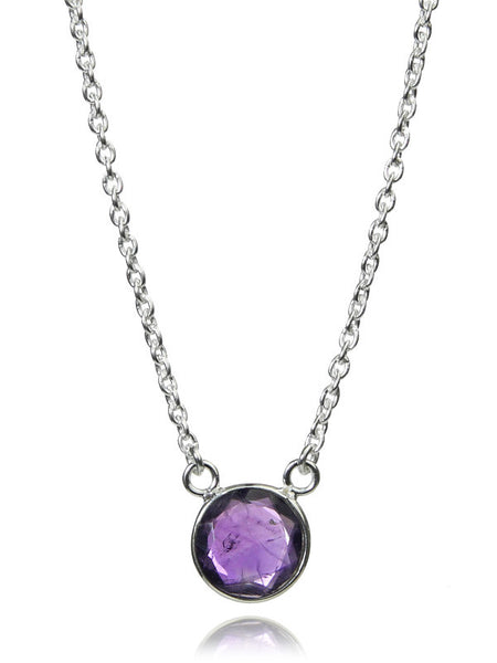 Puntino Necklace Amethyst