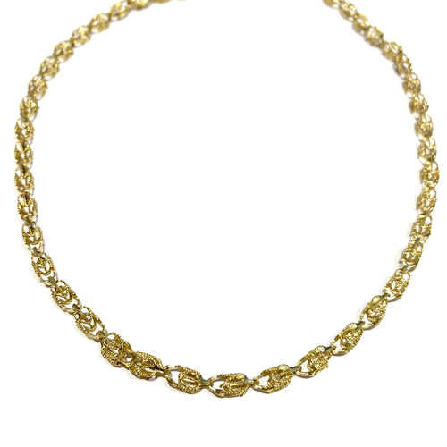 10k Gold Turkish Chain 20""