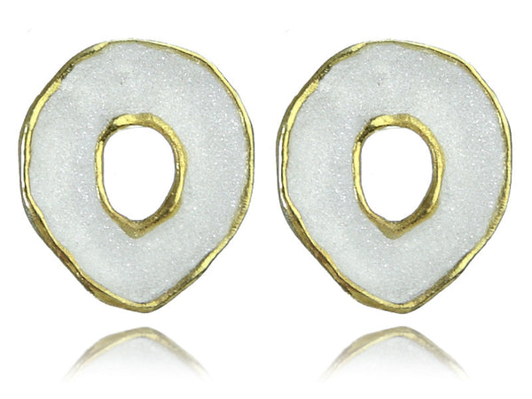 Brazil Gold Nugget Earrings