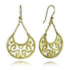 18K Vermeil Arabesque Swing Earrings