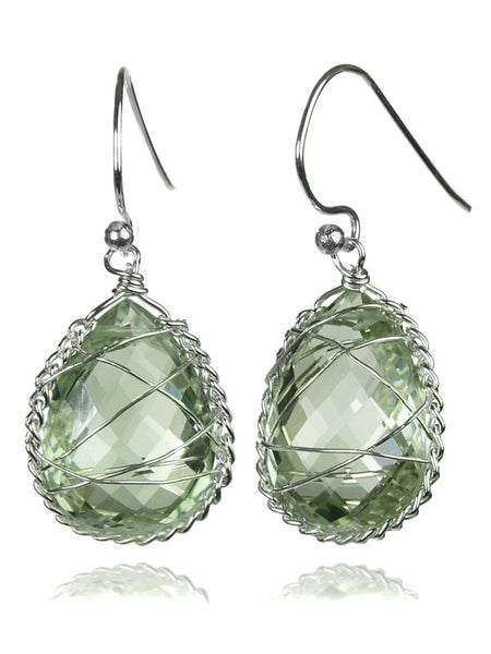 Italian Tear Drop Stone (Green Amethyst)