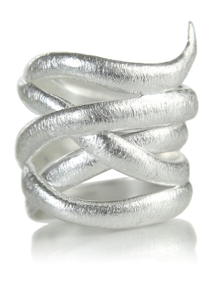 Brazil Amazon Leaf Wrap Ring