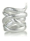Brushed Bilbao Twist Ring