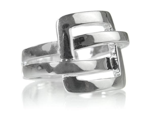 Art Deco Buckle Ring
