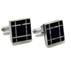 Black Onyx & Mother of Pearl Cufflinks