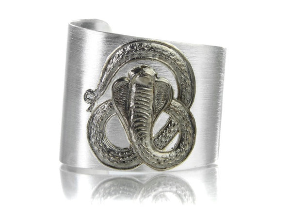 Egyptian Single Snake Cuff