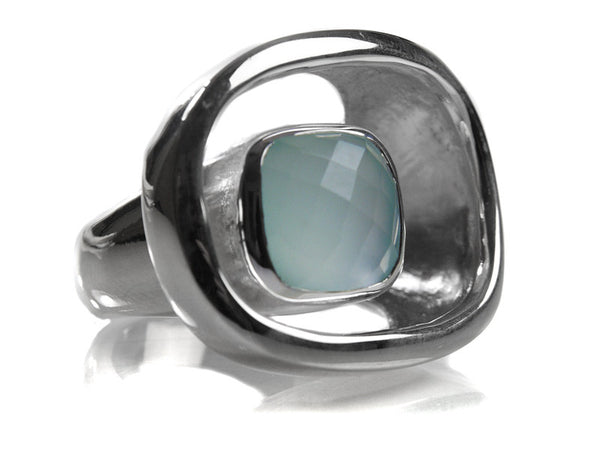 Art Deco Stone Pop Ring (AC)