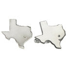 Silver Texas Cufflinks with Diamond
