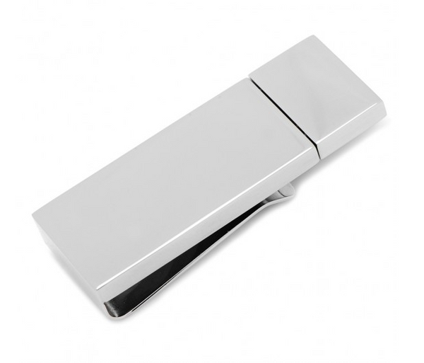 Silver 8GB USB Money Clip