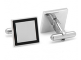 Stainless Steel Square Framed Cufflinks