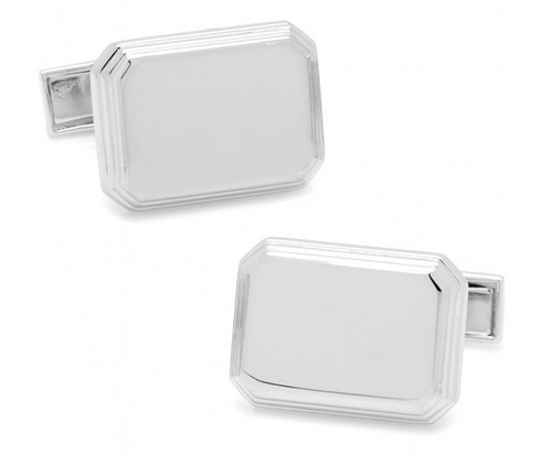 .925 Rectangular Cufflinks