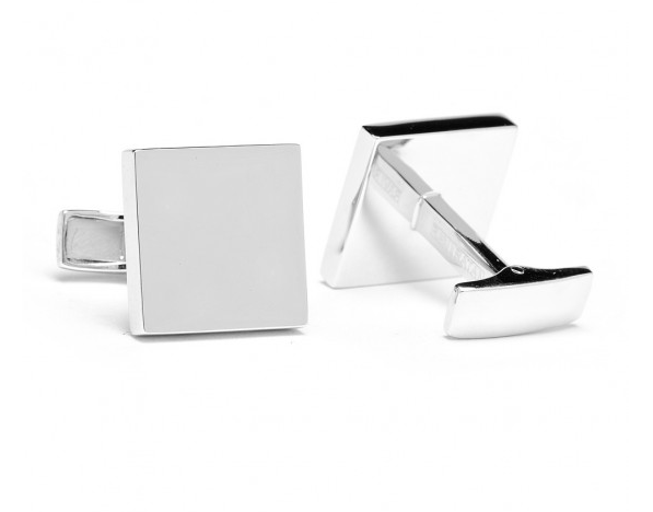 Infinity Edge Square Cufflinks