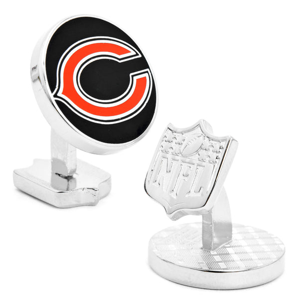 Palladium Chicago Bears Cufflinks