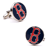 Classic Boston Red Sox Cufflinks