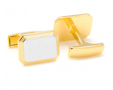 Rectangle Two-Toned Cufflinks
