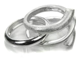Bilbao Triple Line Twist Ring