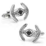 Star Wars Darth Vader TIE Starfighter Blueprint Cufflinks