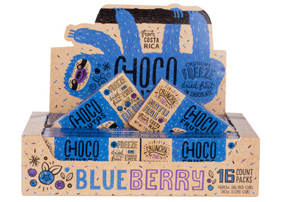 CHOCOFRUTAS 16 pack Blueberry