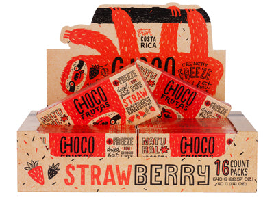 CHOCOFRUTAS 16 pack Strawberry