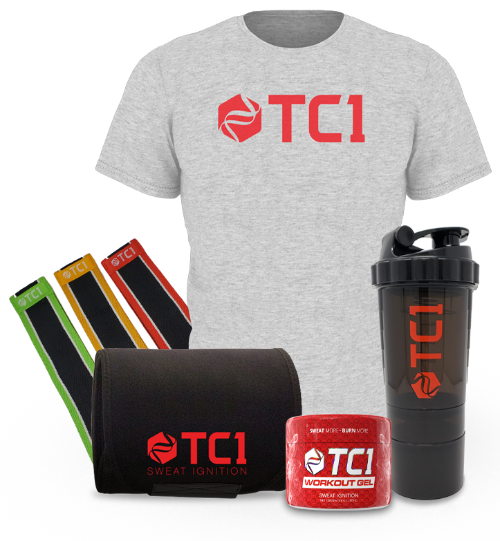 Home Workout Bundle with Shaker and Shirt