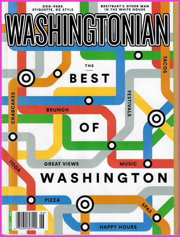Washingtonian June 2017 Issue Cover Best of Washington Curio Concept Store Georgetown Washington D.C.