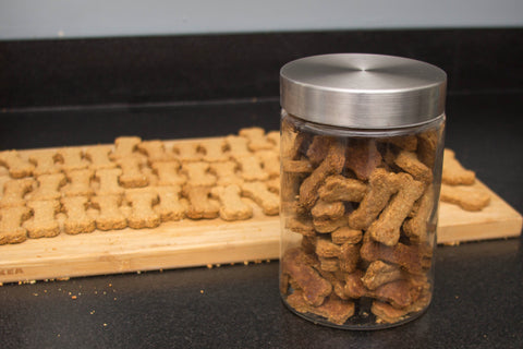 Green Trout Outfitters Peanut Butter Applesauce Dog Biscuit Recipe