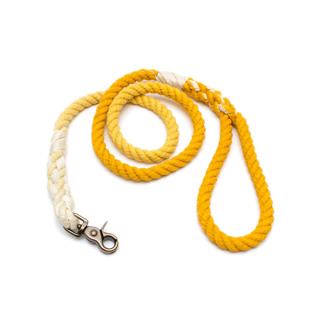 Mustard Ombre Rope Leash