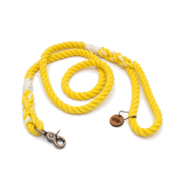Sunshine Rope Leash