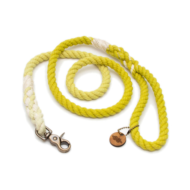 Chartreuse Ombre Rope Leash