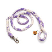 Lavender Marbled Rope Leash