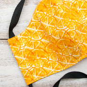 Orange Slices Fitted Cloth Face Mask
