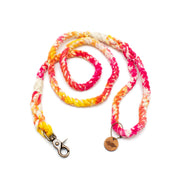 Pink Lemonade Tie-Dye Rope Leash