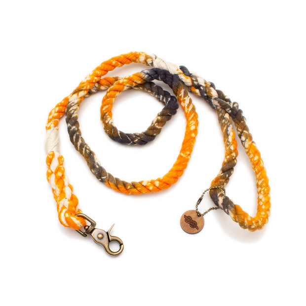 Halloween Tie-Dye Rope Leash