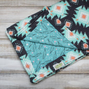 handmade-Narwhal Love Cozy Blanket-Green Trout Outfitters-Green Trout Outfitters
