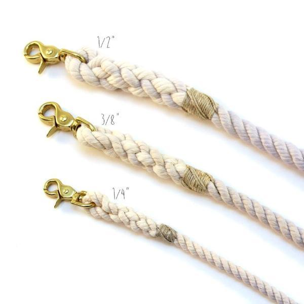 Green Trout Outfitters rope leash diameters sizes