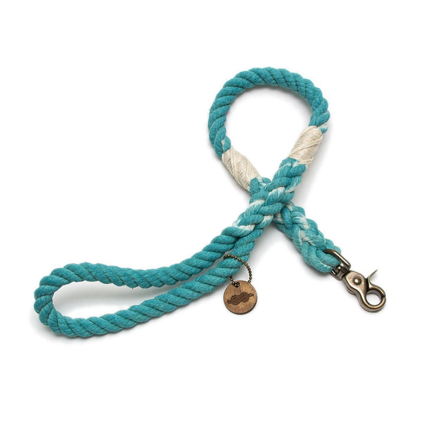 Nomad Leash-Multi Leash-Green Trout Outfitters-Handmade in USA-Rope Dog Leash and Collar