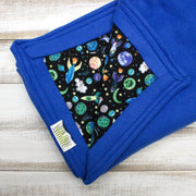 handmade-Outer Space Cozy Blanket-Green Trout Outfitters-Green Trout Outfitters