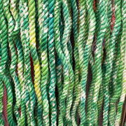 Shades of Green Tie-Dye Rope Leash