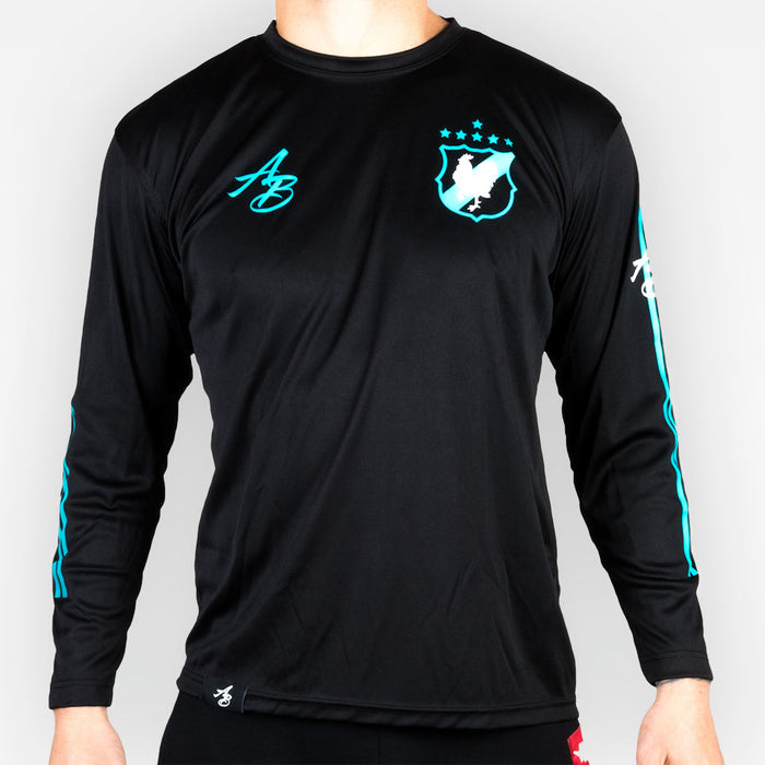 THE RIVALS POLYESTER LONGSLEEVE - BLACK - Apparel - The Arm Bar Soap Company