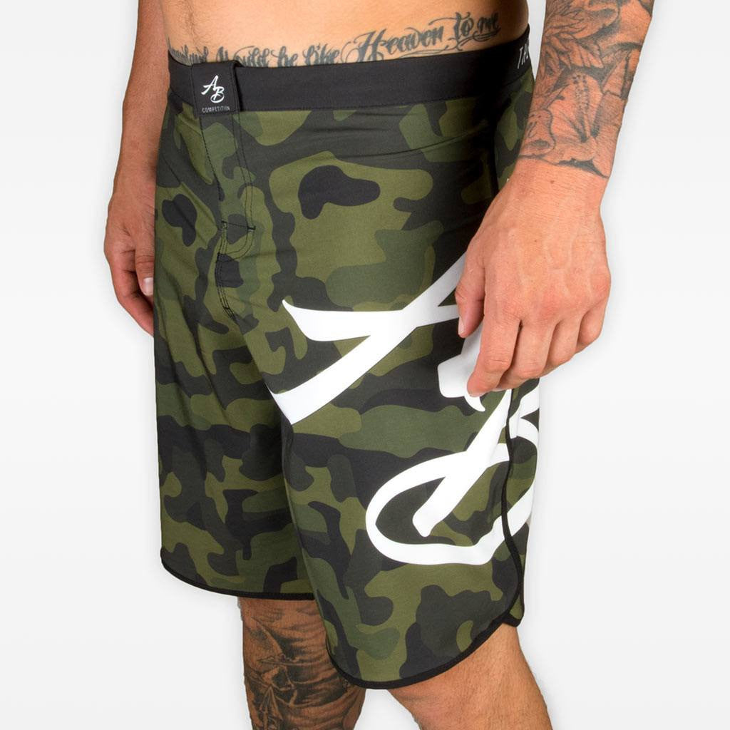 Camo Competition Training Shorts