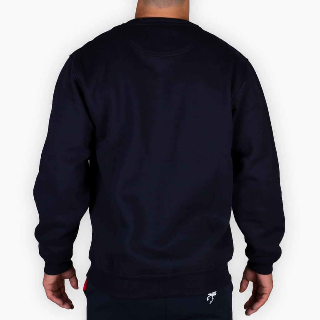 The One Speed Crew Sweatshirt - Navy - Apparel - The Arm Bar Soap Company
