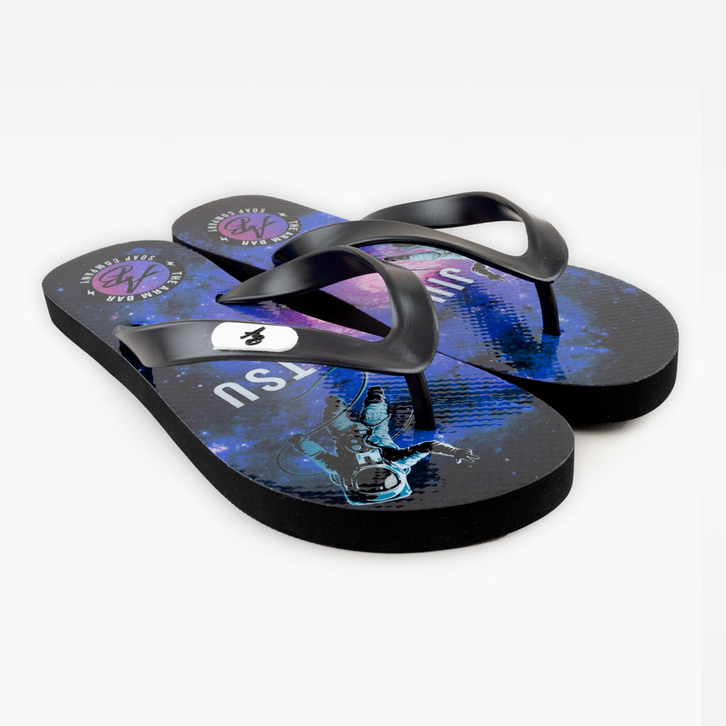 The Jiu Jitsu Galaxy Rubber Slippers -  - The Arm Bar Soap Company
