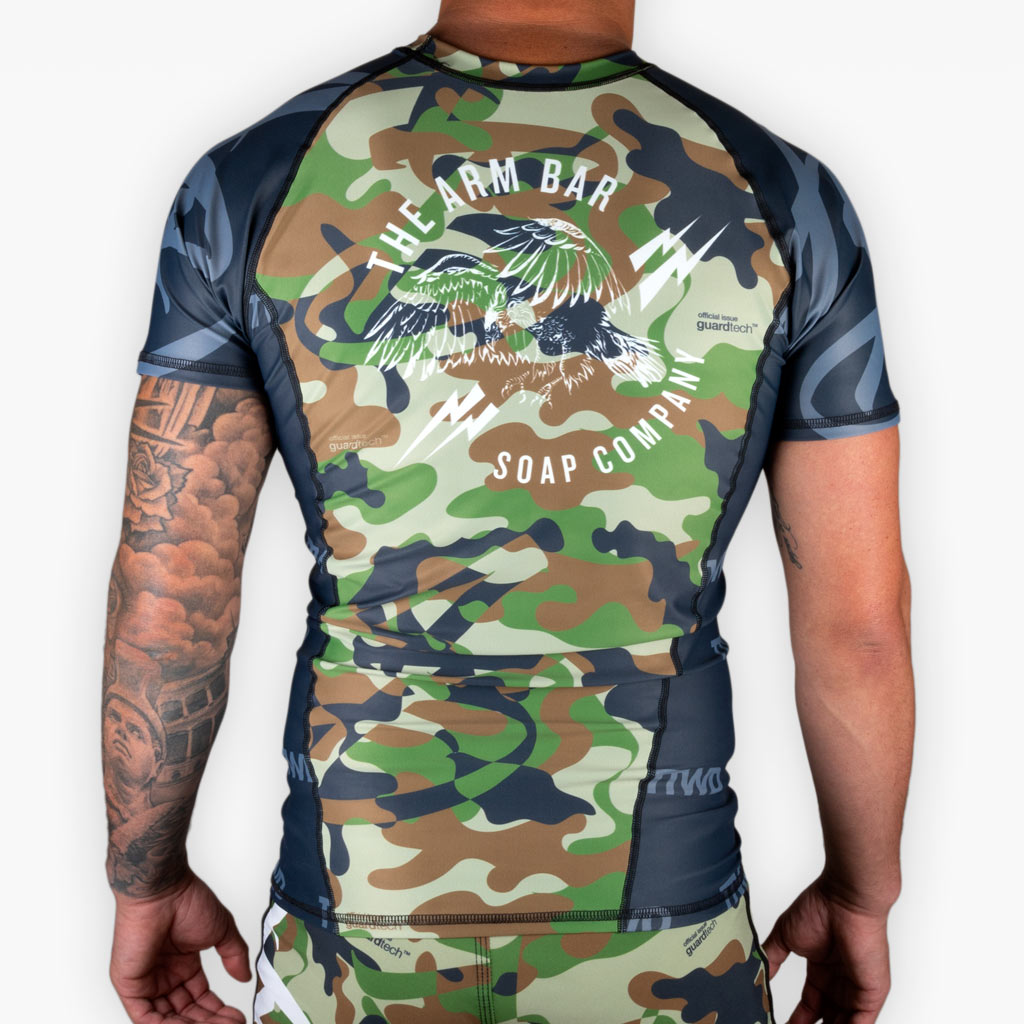 The Militant Rashguard - Apparel - The Arm Bar Soap Company