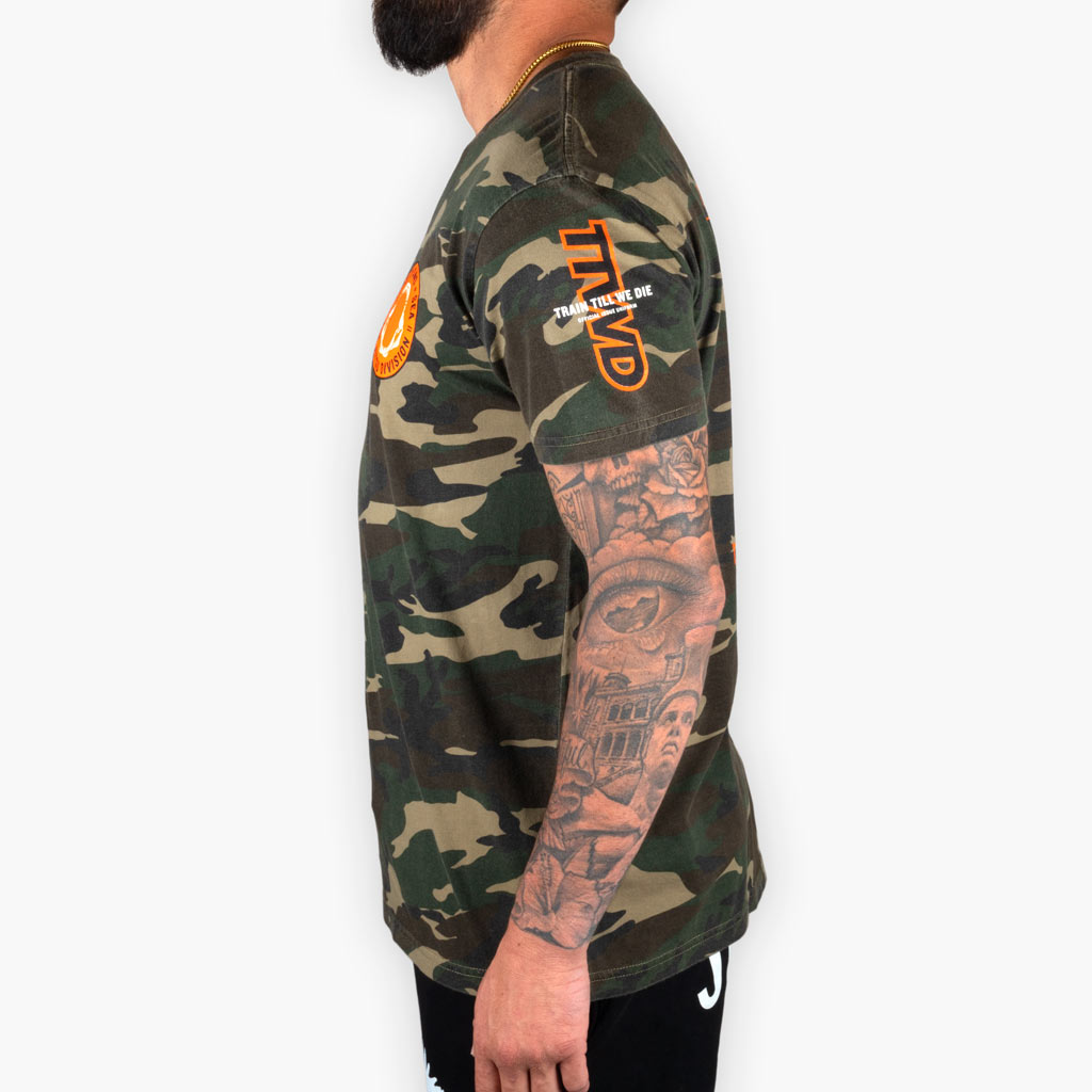 The Land + Sea Camo Tee - Apparel - The Arm Bar Soap Company