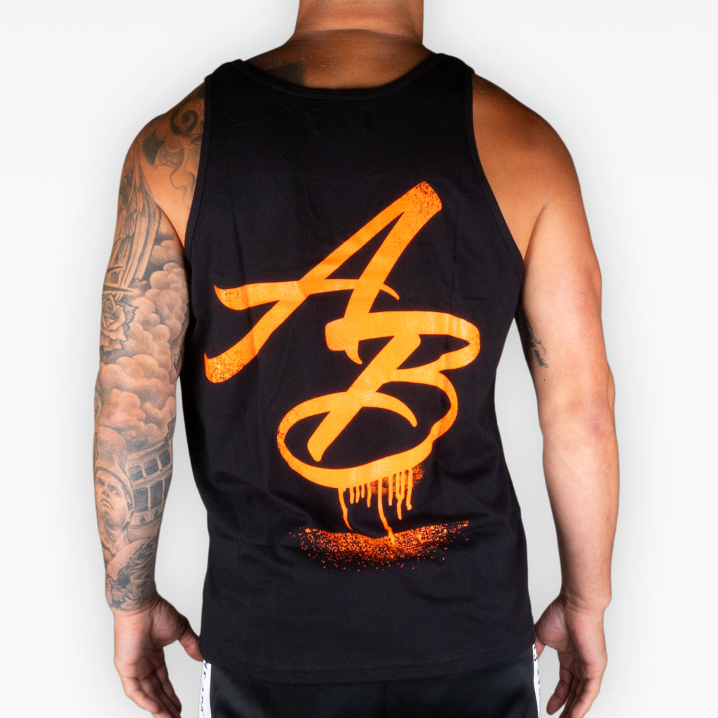 The Slime Logo Tank - Black - Apparel - The Arm Bar Soap Company