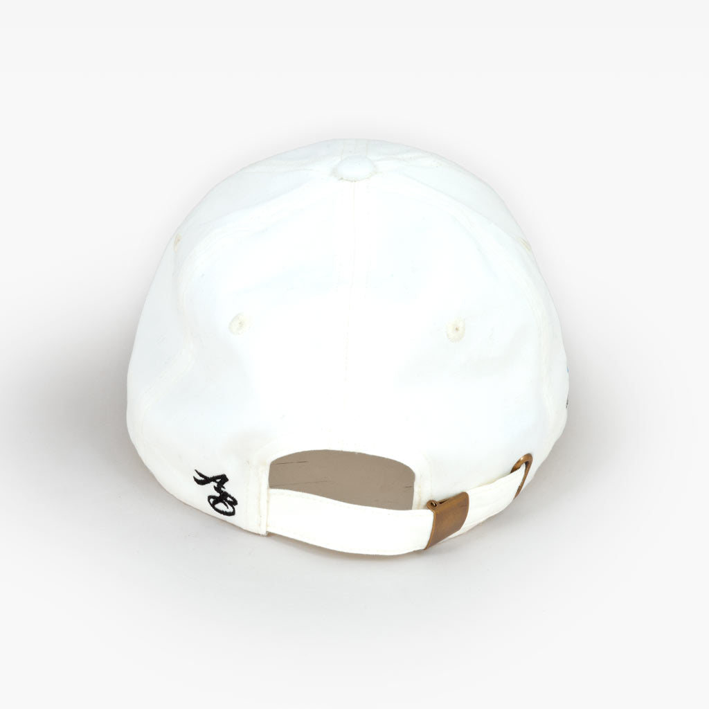 The Spread Aloha unstructured hat - Natural White - Apparel - The Arm Bar Soap Company