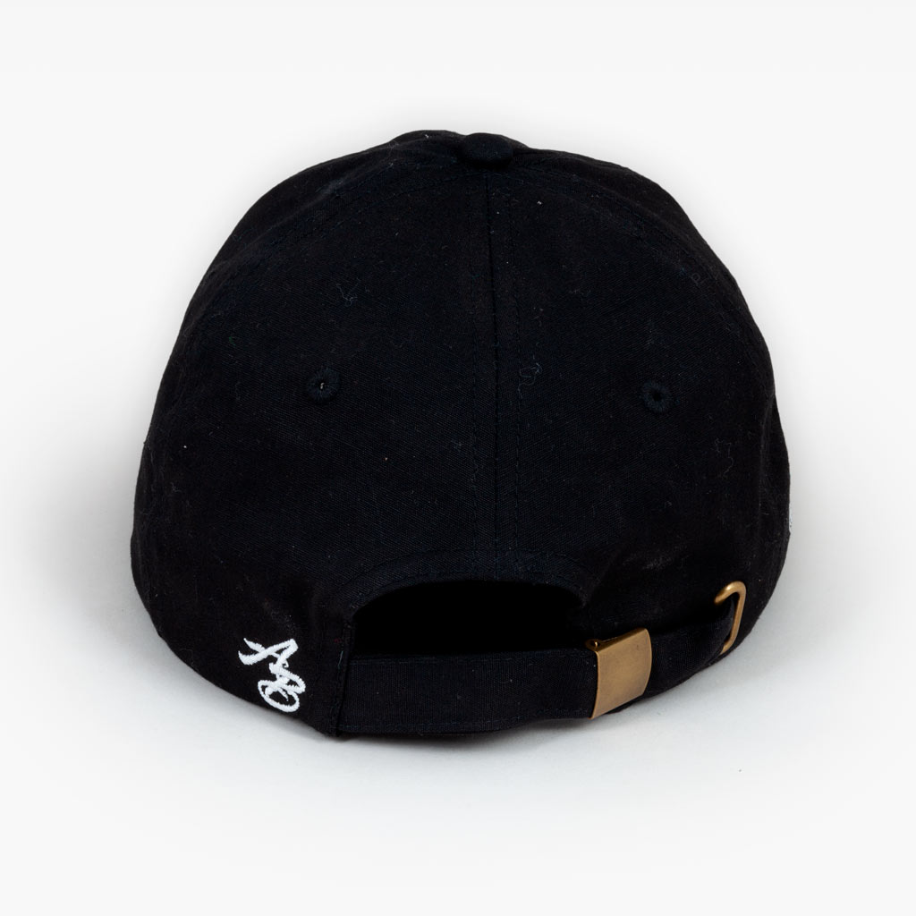 The Spread Aloha unstructured hat - Black - Accessories - The Arm Bar Soap Company